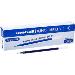 UNIBALL UMR-10 SIGNO BROAD 1.0 İMZA KALEMİ YEDEĞI MAVI