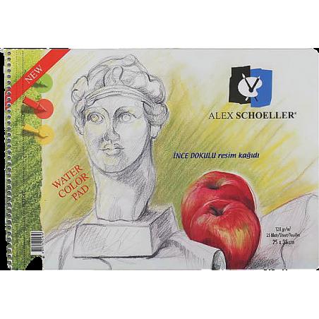 ALEX SCHOLLER 15 YAPRAK RESİM DEFTERİ, 35 X 50 CM