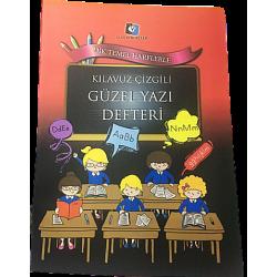 ALEX SCHOELLER DİK TEMEL HARFLİ YAZI DEFTERİ, BÜYÜK BOY