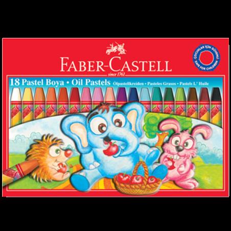 FABER-CASTELL 18 RENK PASTEL BOYA