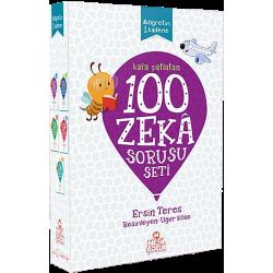 100 ZEKA SORUSU  - 10 YAŞ VE ÜZERİ 5 KİTAP