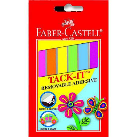 FABER-CASTELL TACK-İT, RENKLİ
