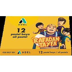 RAFADAN TAYFA 12 RENK PASTEL BOYA, KARTON KUTU
