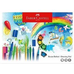 FABER-CASTELL 25X35 15 YAP.RESİM DEFTERİ , ORTA BOY