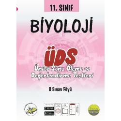 11.Sınıf Biyoloji Ünite Değerlendirme Sınavı (8 Sınav)
