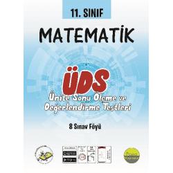 11.Sınıf Matematik Ünite Değerlendirme Sınavı (8 Sınav)