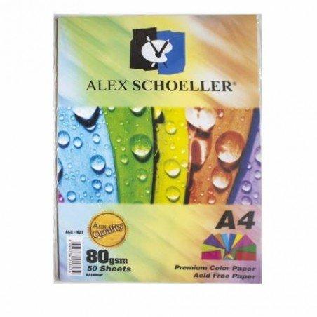ALEX SCHOELLER 50'Lİ RENKLİ FOTOKOPİ KAĞIDI