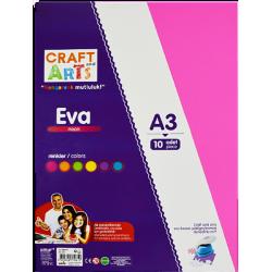 CRAFT ARTS A3 10 LU NEON EVA